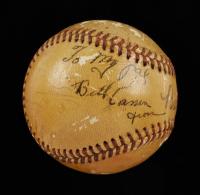 Babe Ruth Signed Baseball (JSA LOA) at PristineAuction.com