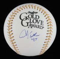 Chuck Knoblauch Signed Gold Glove Award Baseball (PSA COA) at PristineAuction.com