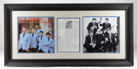 The Animals 20x41 Custom Framed Page Display Band-Signed by (6) with Eric Burden, John Steel, Dave Rowberry, Hilton Valentine, Alan Prince & Zoot Money (Beckett LOA) at PristineAuction.com