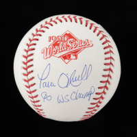 """Paul O'Neill Signed Official 1990 World Series Baseball Inscribed """"90 WS Champ"""" (JSA COA) at PristineAuction.com"""