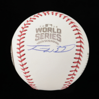 Travis Wood Signed 2016 Cubs World Series Baseball (JSA COA) at PristineAuction.com