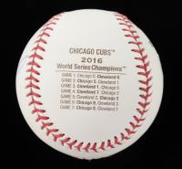 Travis Wood Signed 2016 Cubs World Series Baseball (JSA COA) at PristineAuction.com