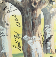 89th U.S. Open Golf Championship 26.5x35 Custom Framed Poster Display Signed by (36) with Jack Nicklaus, Seve Ballesteros, Payne Stewart, Mark Wiebe (Beckett LOA) (See Description) at PristineAuction.com