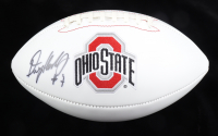 Dwayne Haskins Signed Ohio State Buckeyes Logo Football (Sports Collectibles COA) at PristineAuction.com