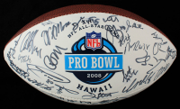 2008 Pro Bowl NFL Football Signed by (66) with Devin Hester, Donald Driver, Steve Hutchinson, Adrian Peterson (Becklett LOA) (See Description) at PristineAuction.com