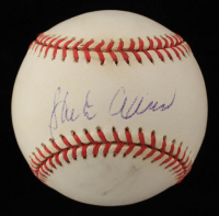 Hank Aaron Signed OML Baseball (Beckett Hologram) (See Description) at PristineAuction.com