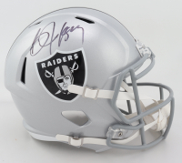 Bo Jackson Signed Raiders Full-Size Speed Helmet (Beckett COA) (See Description) at PristineAuction.com