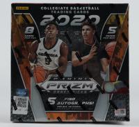 2020-21 Panini Prizm Draft Picks Collegiate Basketball Card Box of (40) Cards at PristineAuction.com