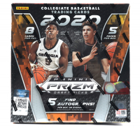2020-21 Panini Prizm Draft Picks Basketball Hobby Box with (5) Packs at PristineAuction.com