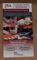 Jim Rice Signed 35x43 Custom Framed Jersey Display (JSA COA) (See Description) at PristineAuction.com