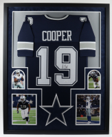 Amari Cooper Signed 34x42 Custom Framed Jersey Display (JSA COA) at PristineAuction.com