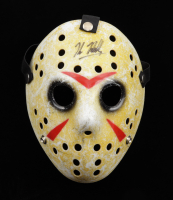 """Kane Hodder Signed """"Friday the 13th"""" Jason Voorhees Mask (Pristine Authentic COA) at PristineAuction.com"""