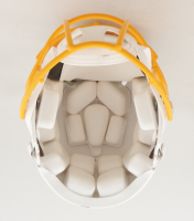 Austin Ekeler Signed Chargers Full-Size Authentic On-Field Matte White Speed Helmet (Beckett Hologram) at PristineAuction.com