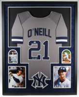 Paul O'Neill Signed Yankees 35x43 Custom Framed Jersey (JSA COA) at PristineAuction.com