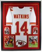 Sammy Watkins Signed 35x43 Custom Framed Jersey Display (Beckett COA) at PristineAuction.com