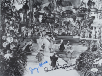"""""""The Wizard of Oz"""" 11x14 Photo Cast-Signed by (4) with Mickey Carroll, Jerry Maren, Karl Slover & Donna Stewart-Hardaway (JSA COA) at PristineAuction.com"""