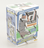 2021 Panini Donruss Baseball Blaster Box with (11) Packs (See Description) at PristineAuction.com