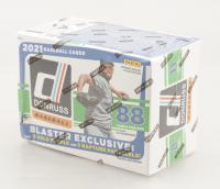 2021 Panini Donruss Baseball Blaster Box with (11) Packs (See Description) at PristineAuction.com