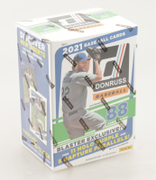 2021 Panini Donruss Baseball Blaster Box with (11) Packs at PristineAuction.com