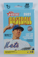 2021 Topps Heritage Baseball Hanger Box of (35) Cards at PristineAuction.com