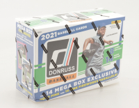 2021 Panini Donruss Baseball Mega Box with (14) Packs (See Descripton) at PristineAuction.com