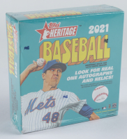 2021 Topps Heritage Baseball Mega Box with (138) Cards (See Description) at PristineAuction.com