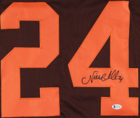 Nick Chubb Signed Jersey (Beckett COA) at PristineAuction.com