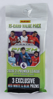 2020-21 Panini Prizm Premier League Soccer Cello Pack with (15) Cards at PristineAuction.com