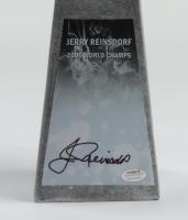 "Jerry Reinsdorf Signed 14"" Baseball Championship Trophy (Schwartz COA) at PristineAuction.com"