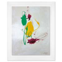 Jenik Cook Signed 33x27 Custom Framed Original Acrylic Painting at PristineAuction.com