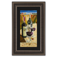 "Dima Gorban Signed ""Celebration"" Limited Edition 16x26 Custom Framed Serigraph #689/850 at PristineAuction.com"