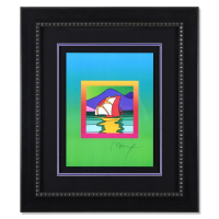 """Peter Max Signed """"Sailboat East on Blends"""" Limited Edition 30x26 Lithograph #496/500 at PristineAuction.com"""