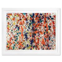 "Wyland Signed ""Splash 140"" 30x37 Custom Framed Original Watercolor Painting at PristineAuction.com"