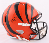 Tee Higgins Signed Bengals Full-Size Speed Helmet (JSA COA) at PristineAuction.com