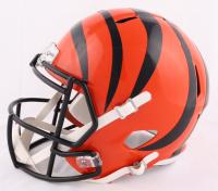 Tee Higgins Signed Bengals Full-Size Speed Helmet (JSA COA) at PristineAuction.com