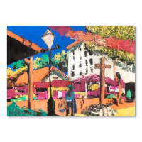 """Paul Blaine Henrie Signed """"Afternoon on Olivera St"""" 30x40 Original Painting on Canvas at PristineAuction.com"""