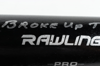 "Pete Rose Signed Rawlings Baseball Bat Inscribed ""I'm Sorry I Broke Up the Beatles"" (Fiterman Hologram) (See Description) at PristineAuction.com"