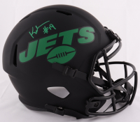 Keyshawn Johnson Signed Jets Full-Size Eclipse Alternate Speed Helmet (JSA COA) at PristineAuction.com
