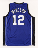 Justise Winslow Signed Jersey (PSA COA) (See Description) at PristineAuction.com