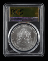 2011-(S) American Silver Eagle $1 One Dollar Coin - Struck at San Francisco, Gold Foil Label (PCGS MS70) at PristineAuction.com
