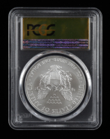 2012-(S) American Silver Eagle $1 One Dollar Coin - First Strike, Struck at San Francisco - Gold Foil Label (PCGS MS70) at PristineAuction.com