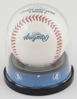 Bryce Harper Signed OML Baseball with High Quality Display Case (Beckett COA) at PristineAuction.com