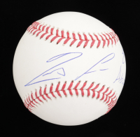 "Ronald Acuna Jr. Signed OML Baseball Inscribed ""El Abusador"" (JSA COA) at PristineAuction.com"