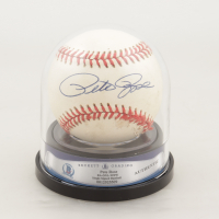 Pete Rose Signed ONL Baseball with Display Case (BGS Encapsulated) at PristineAuction.com