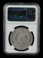1889 Morgan Silver Dollar, VAM-16 DDO Ear Hot 50 (NGC AU55) at PristineAuction.com