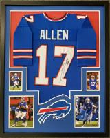 Josh Allen Signed 34x42 Custom Framed Jersey (JSA COA) at PristineAuction.com