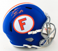 Kadarius Toney Signed Florida Gators Full-Size Speed Helmet (JSA COA) (See Description) at PristineAuction.com