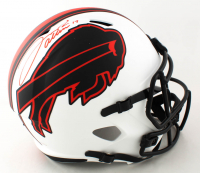 Josh Allen Signed Bills Full-Size Lunar Eclipse Alternate Speed Helmet (Beckett COA) (See Description) at PristineAuction.com