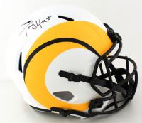 Torry Holt Signed Rams Full-Size Lunar Eclipse Alternate Speed Helmet (Beckett Hologram) at PristineAuction.com