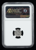 Azes I/II - After c.58 BC Indo-Scythians AR Ancient Silver Drachm (NGC Encapsulated) at PristineAuction.com